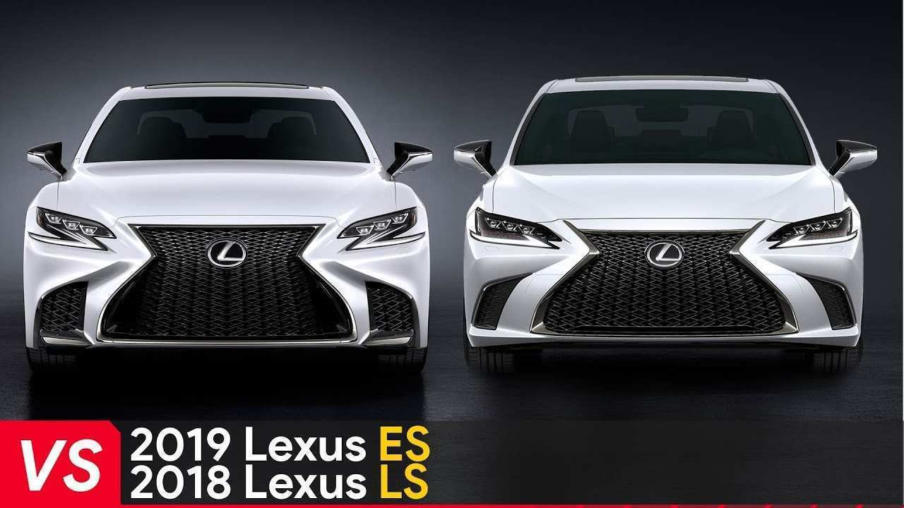 81 All New Lexus Es 2019 Vs 2018 Rumors