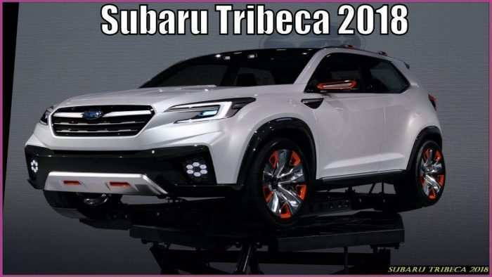 81 All New Tribeca Subaru 2019 History