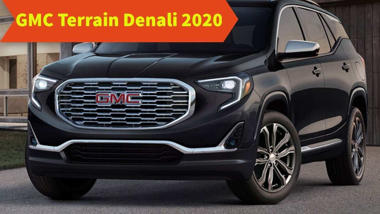81 Best GMC Terrain 2020 New Concept