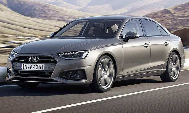 81 The 2019 Audi A4 New Concept