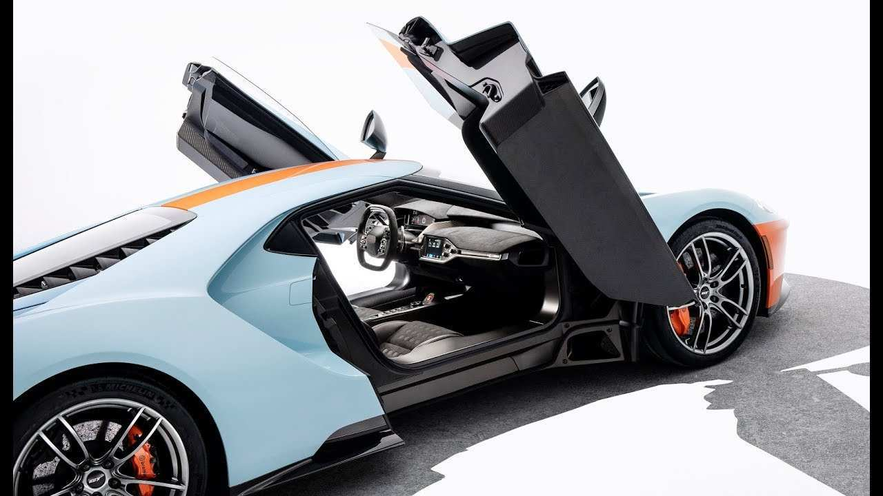 81 The 2019 Ford Gt Supercar Interior