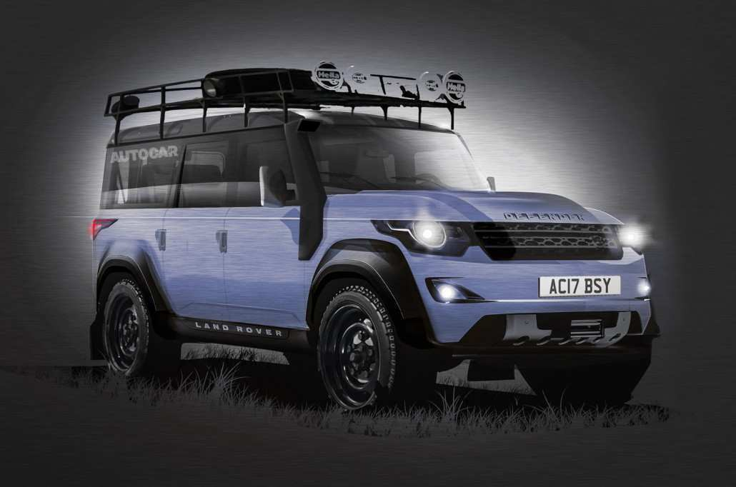 81 The 2019 Land Rover Defender Performance And New Engine