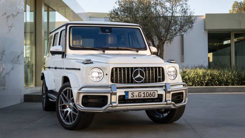 82 A 2019 Mercedes G Class Photos