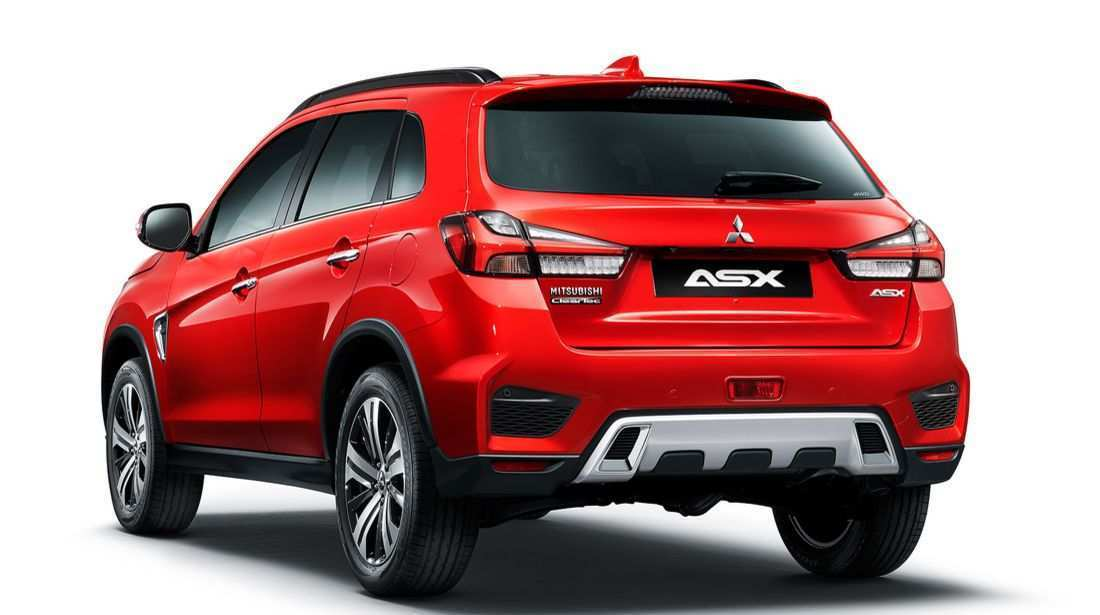 82 A 2019 Mitsubishi Asx Spy Shoot