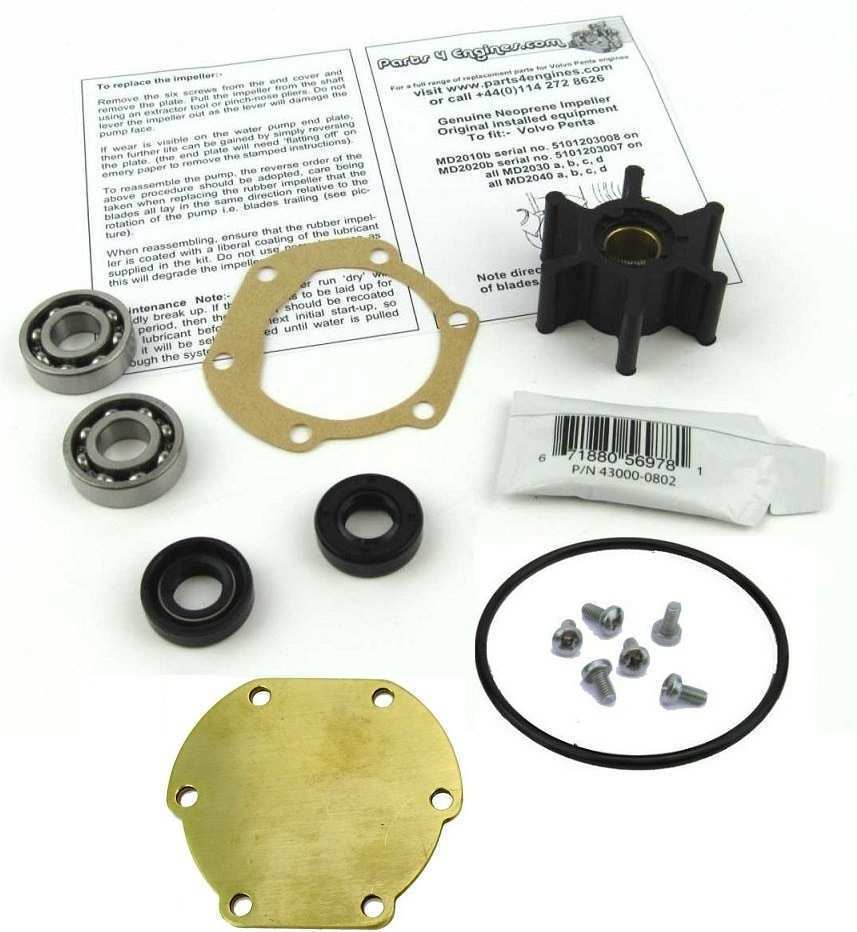 82 A Volvo Md2020 Service Kit Prices
