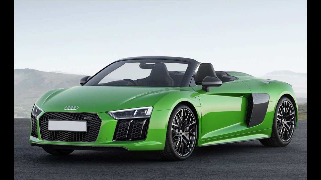 82 All New 2019 Audi R8 V10 Spyder Price And Release Date