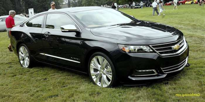 82 All New 2019 Chevy Impala Ss Ltz Redesign And Review