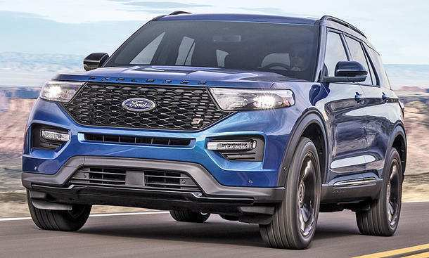 82 All New 2019 Ford Explorer Model