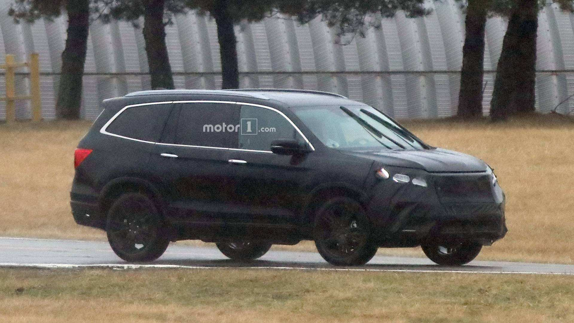 82 All New 2019 Honda Pilot Spy Photos Photos