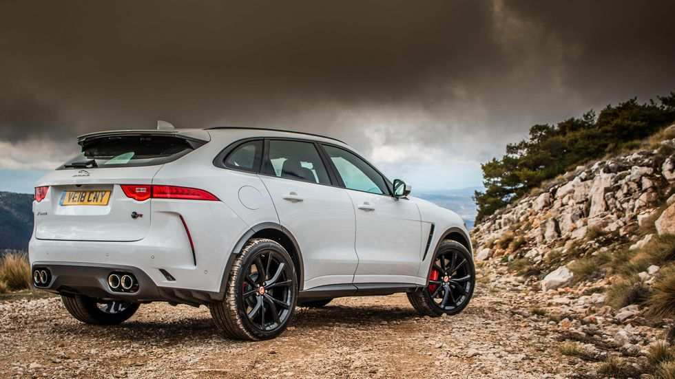 82 All New 2019 Jaguar F Pace Svr 2 Picture
