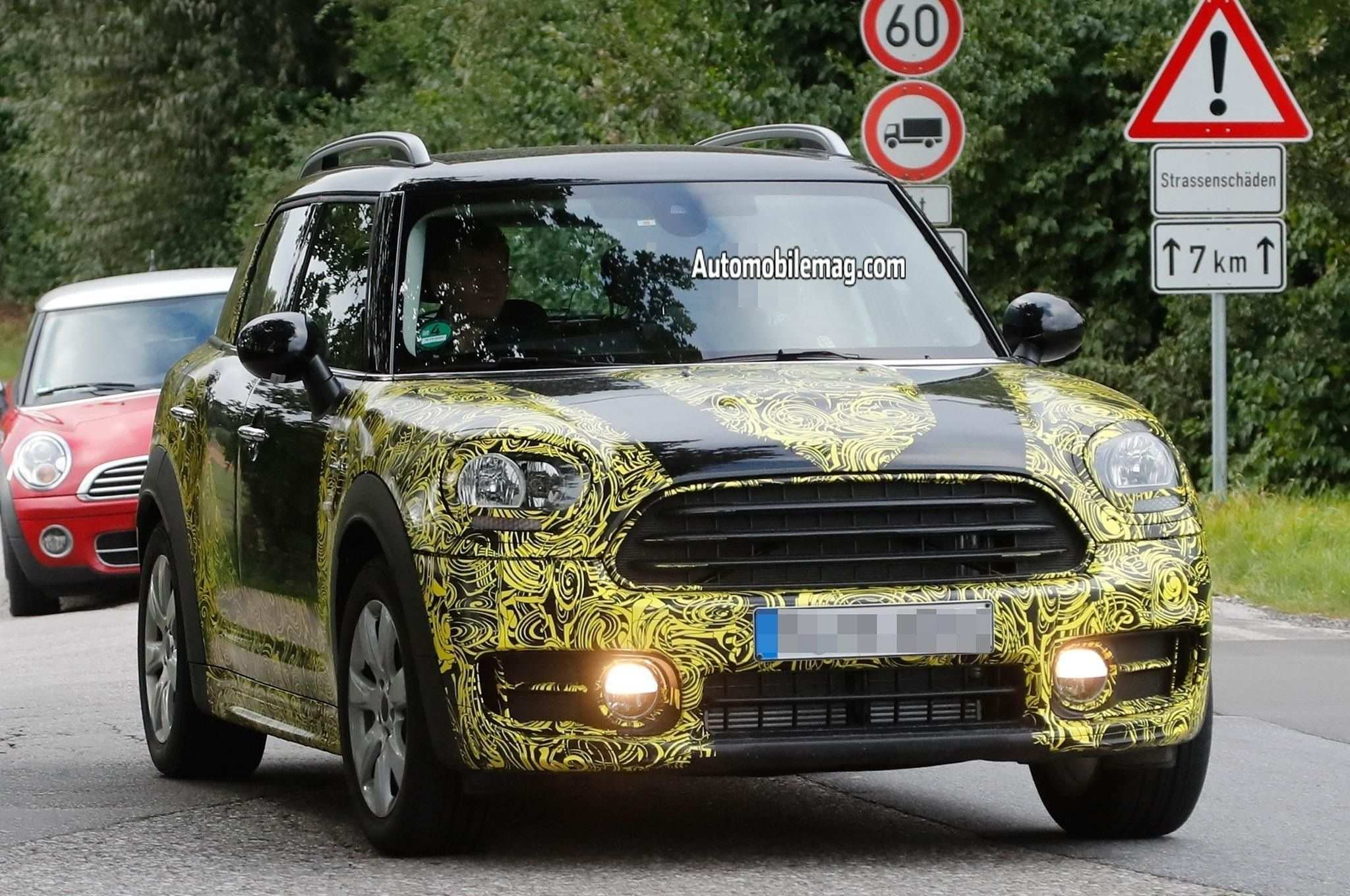 82 All New 2019 Spy Shots Mini Countryman Redesign And Concept