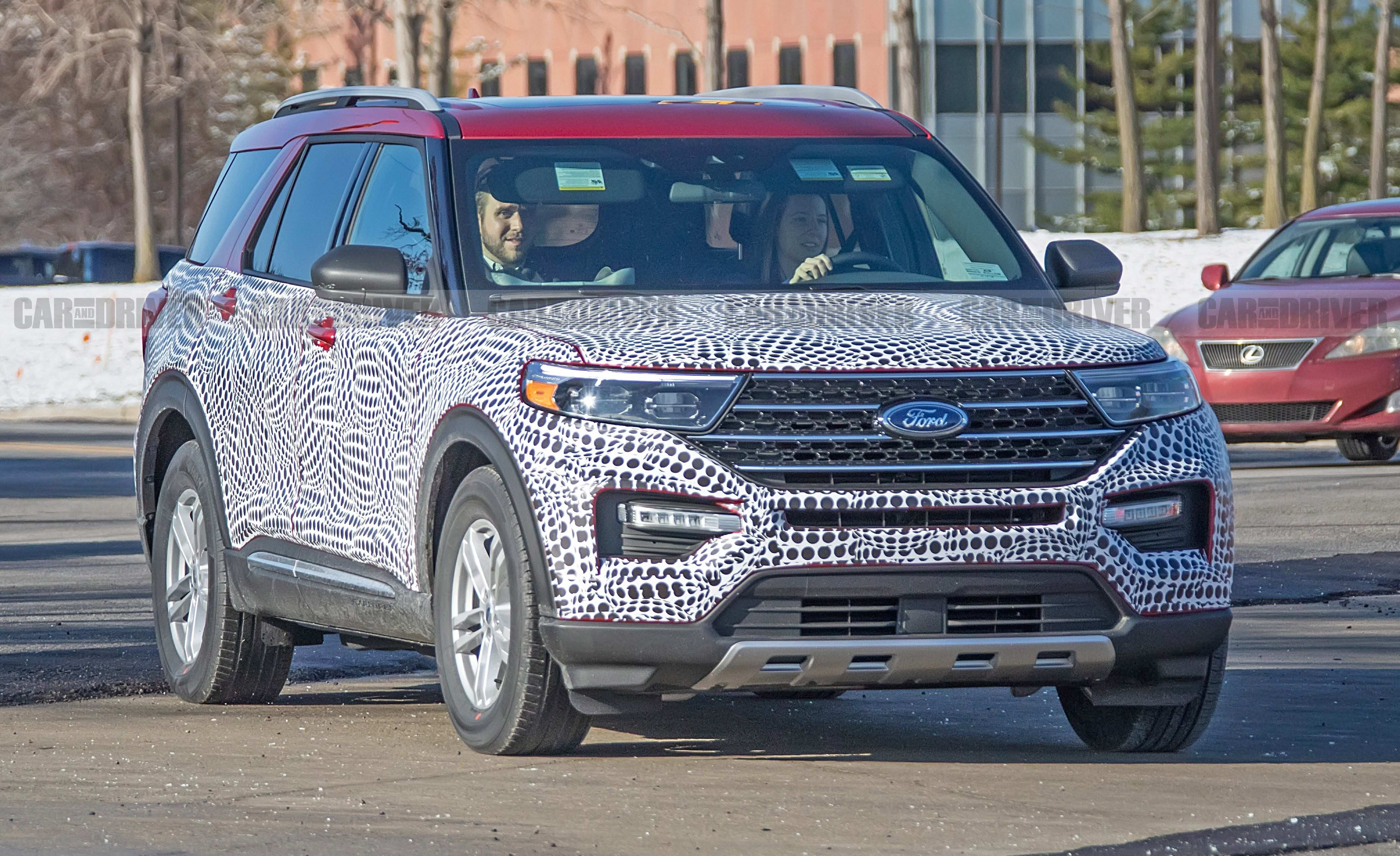82 All New Ford Usa Explorer 2020 Spy Shoot