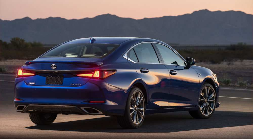 82 All New Lexus 2019 F Sport Engine