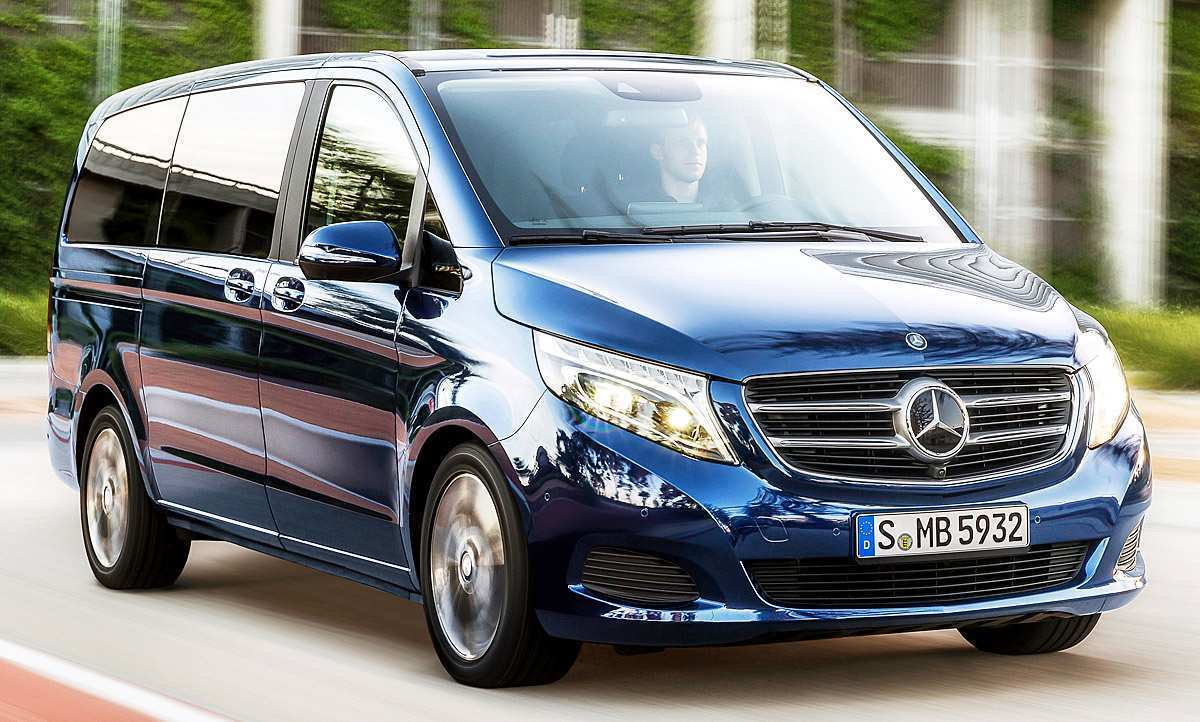 82 All New Mercedes V Klasse 2019 Picture