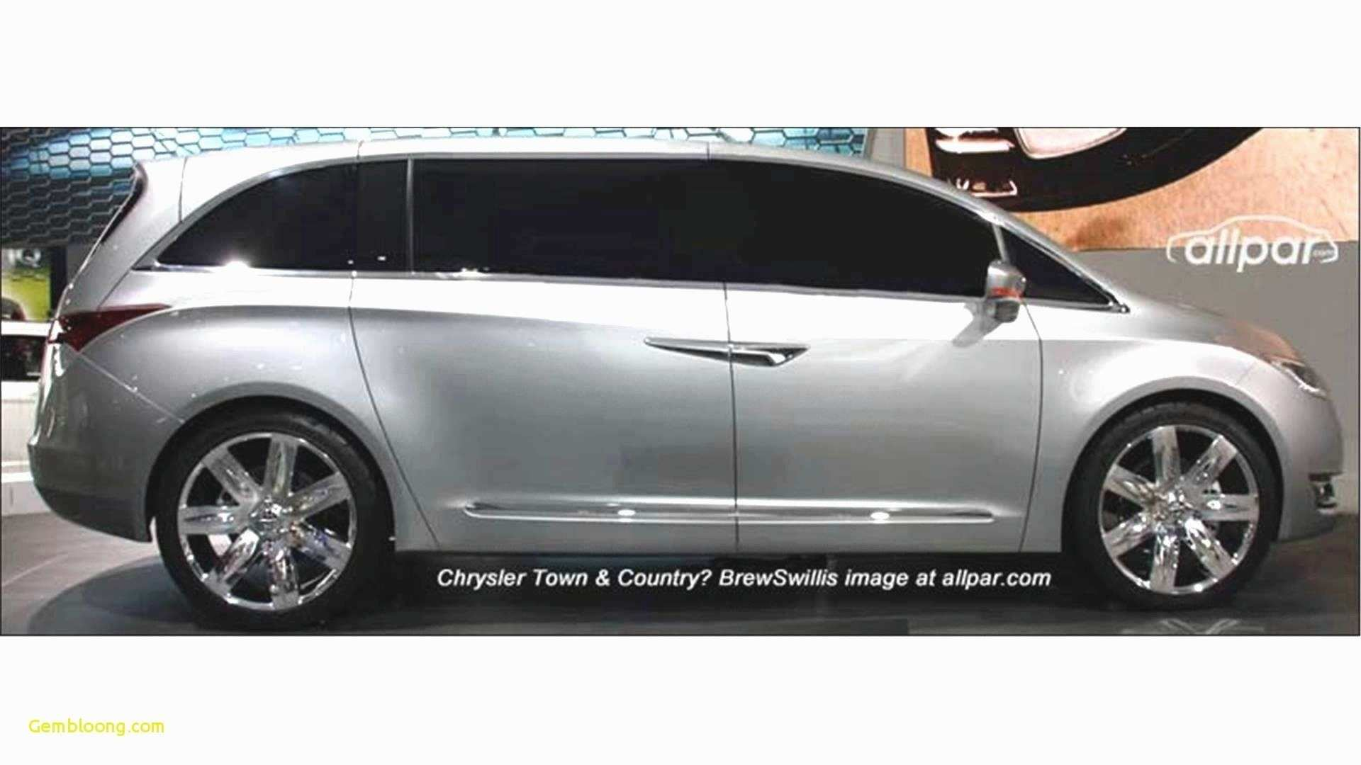 82 Best 2019 Chrysler Town Country Awd Style