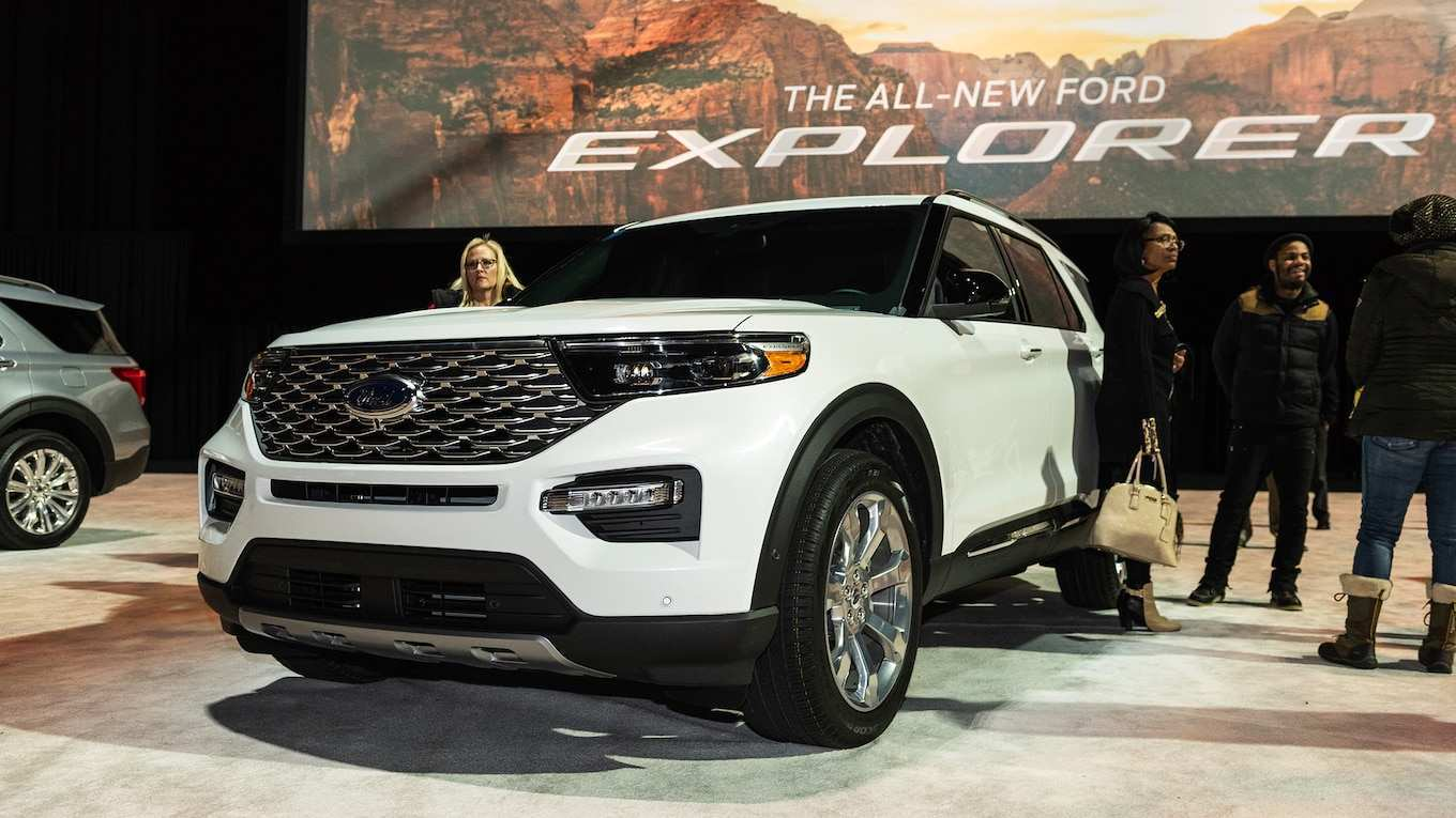 82 New 2020 Ford Explorer Sports Spesification