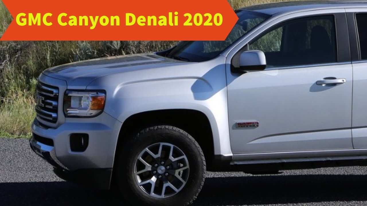 82 New 2020 Gmc Canyon Diesel Release Date