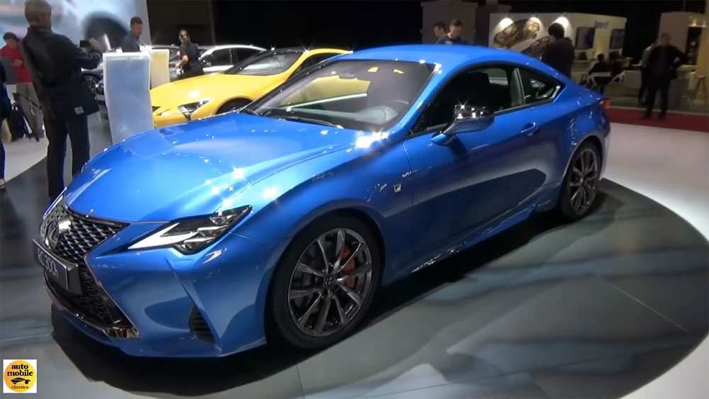 82 New Lexus Rcf 2019 Review And Release Date