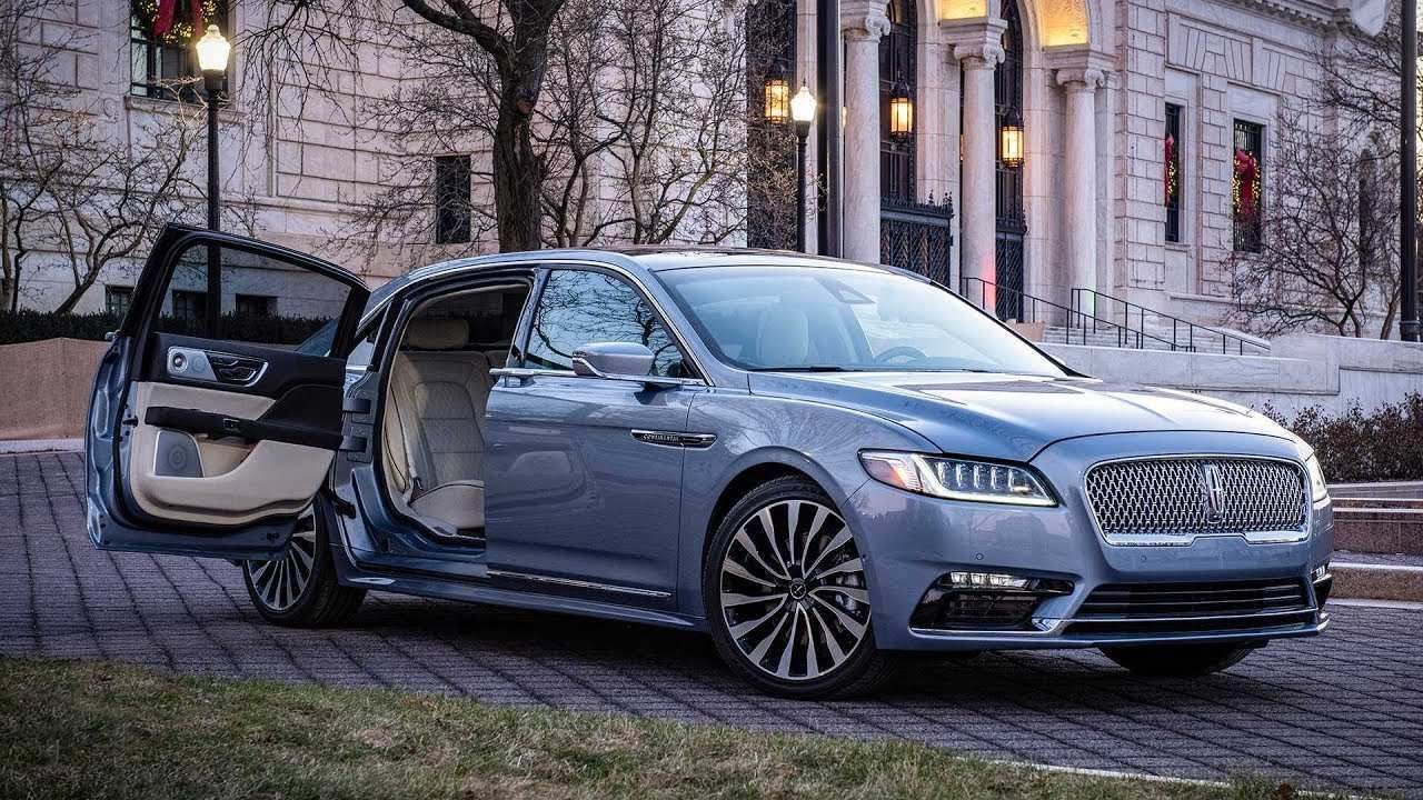 82 The 2020 The Lincoln Continental Price