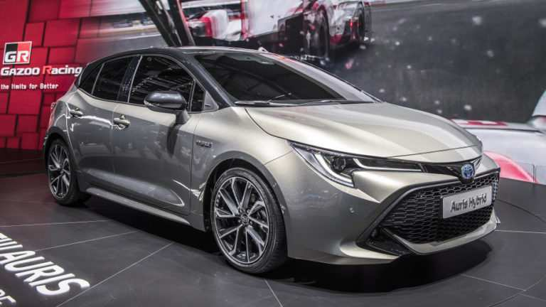 82 The 2020 Toyota Auris New Concept