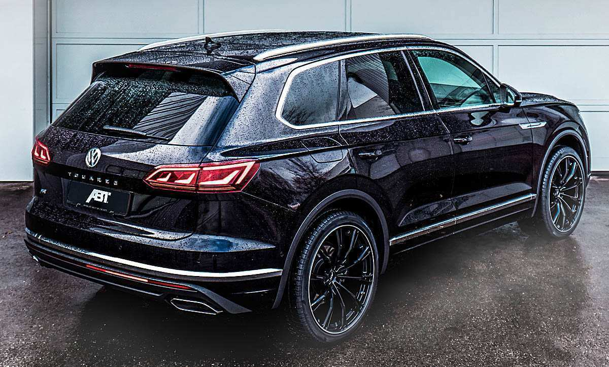 82 The Best 2019 VW Touareg Exterior
