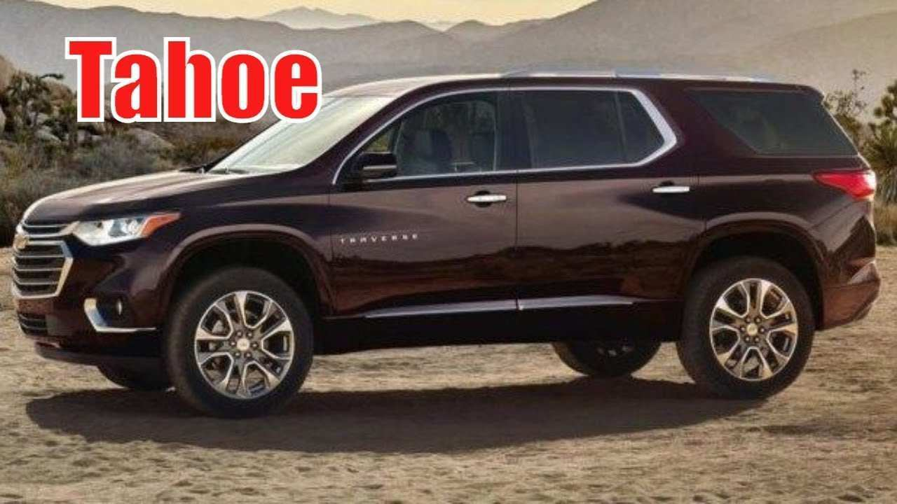 82 The Best 2020 Chevy Tahoe Ltz New Concept