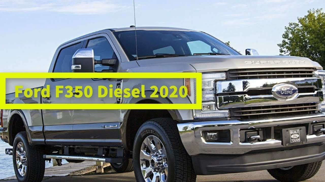 82 The Best 2020 Ford F350 Diesel Pricing