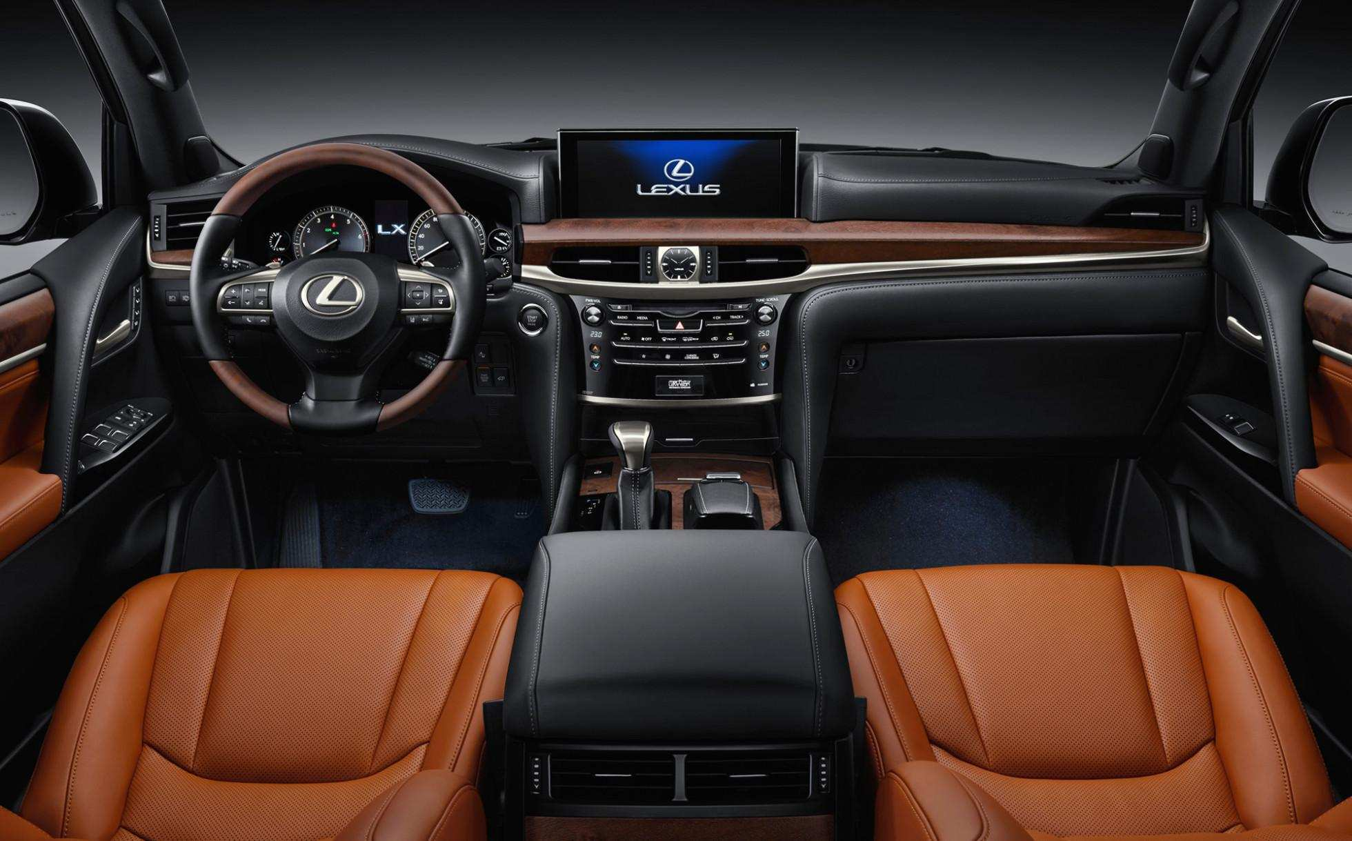 82 The Best Lexus Lx 2019 Interior Price And Review