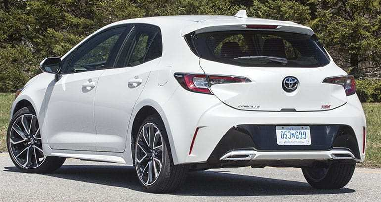 83 A 2019 Toyota Corolla Hatchback Style