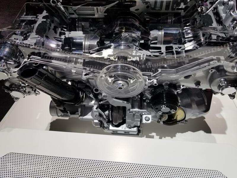 83 A 2020 Subaru Legacy Engine Performance
