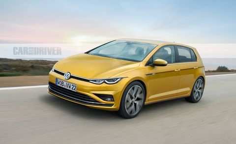 83 A 2020 VW Golf R USA Wallpaper