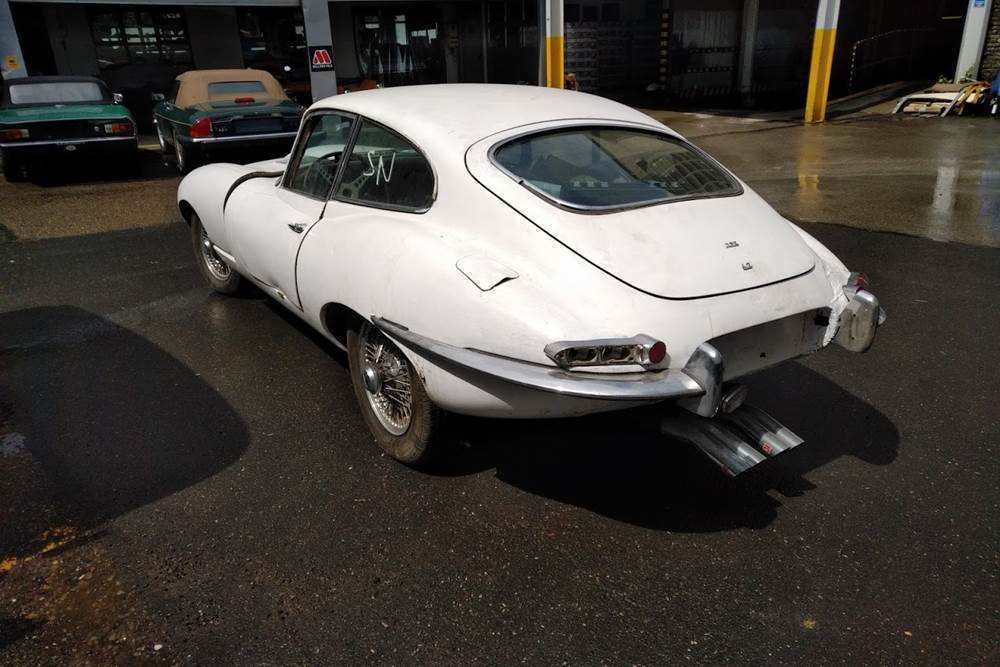 83 A Jaguar E Type 2019 Model