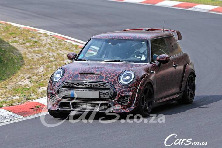 83 A Spy Shots Mini Countryman Concept And Review