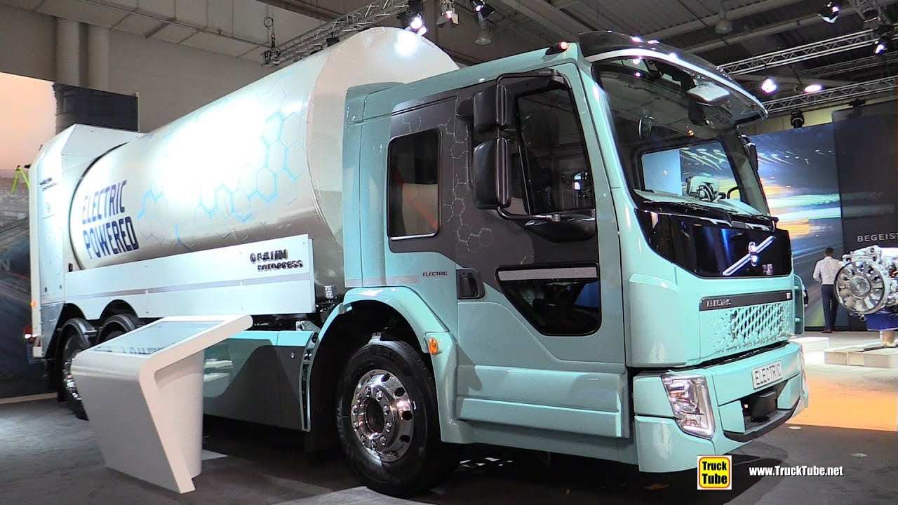 83 A Volvo Electric Truck 2019 Photos