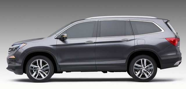 83 All New 2019 Honda Pilot Spy Photos Pictures