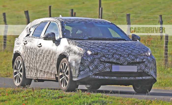 83 All New 2020 Spy Shots Toyota Prius Redesign And Review