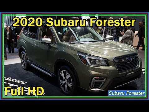 83 All New New Generation 2020 Subaru Forester New Model And Performance