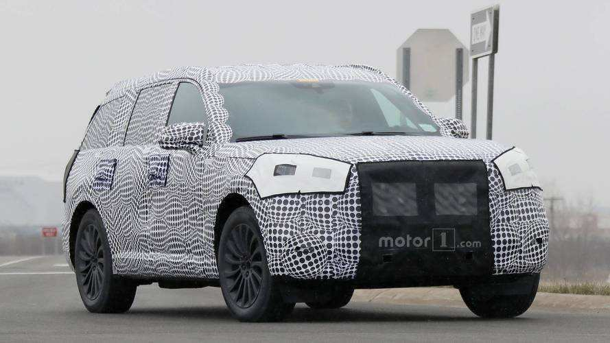 83 All New Spy Shots Lincoln Mkz Sedan Overview
