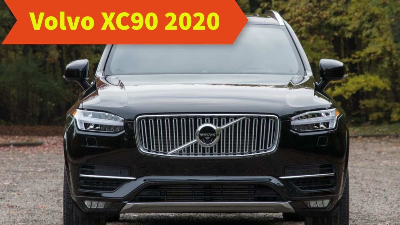 83 All New Volvo Xc90 2020 Review Rumors