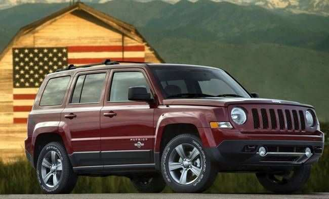 83 New 2019 Jeep Patriot Model