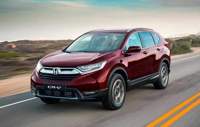 83 New 2020 Honda CR V Interior