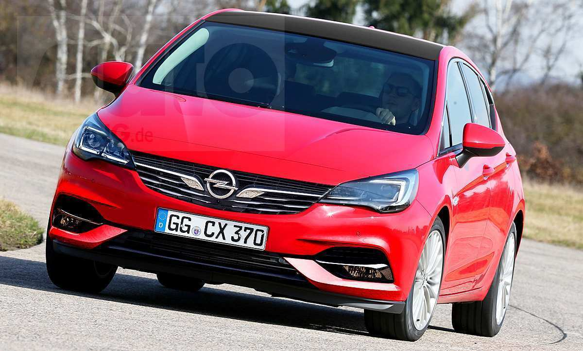 83 The 2019 New Opel Astra Interior