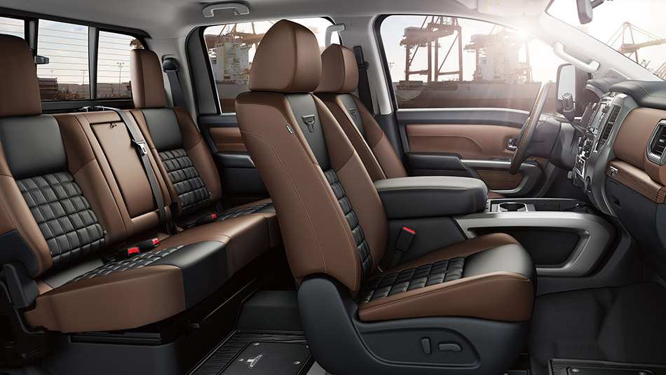 83 The 2019 Nissan Titan Interior New Concept