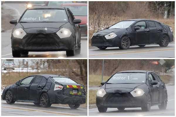 83 The 2020 New Toyota Avensis Spy Shots Review And Release Date