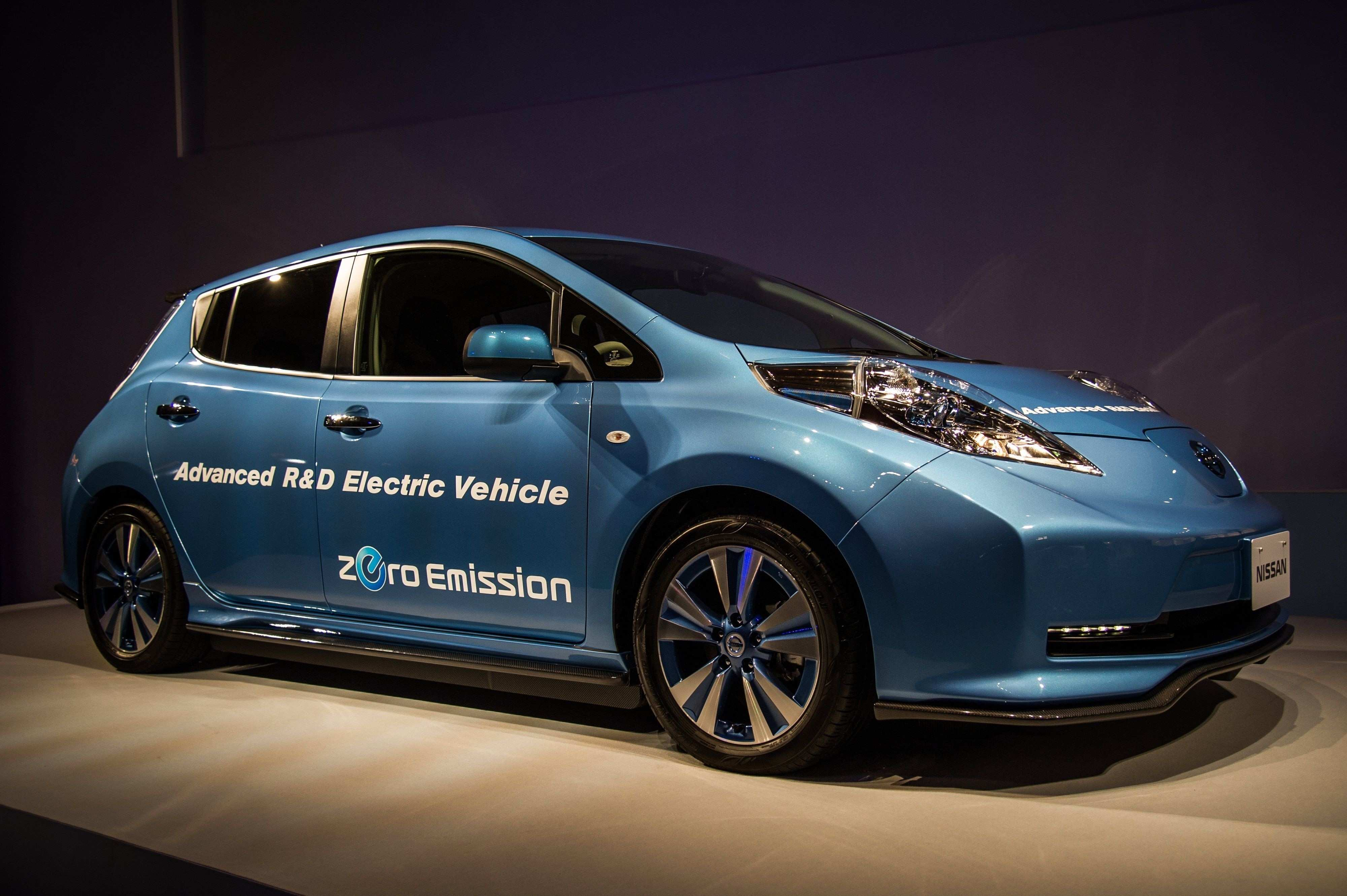 83 The 2020 Nissan Leaf Model