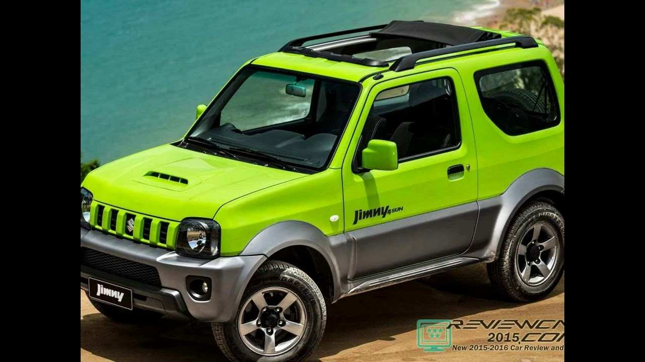 83 The Best 2019 Suzuki Jimny Model First Drive