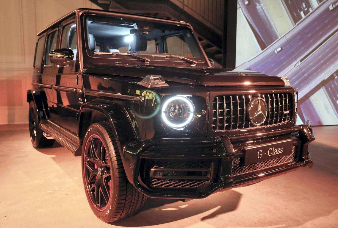 83 The Best Mercedes 2019 G Wagon Release Date And Concept