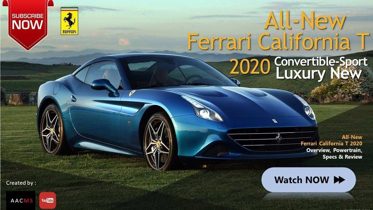 83 The Ferrari California T 2020 Release