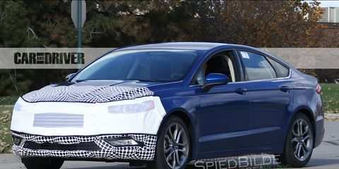 83 The Spy Shots Ford Fusion Concept And Review