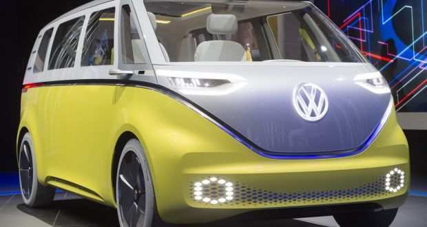 83 The Volkswagen Buzz 2020 Interior
